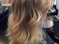Took her from ombre to bright blonde1