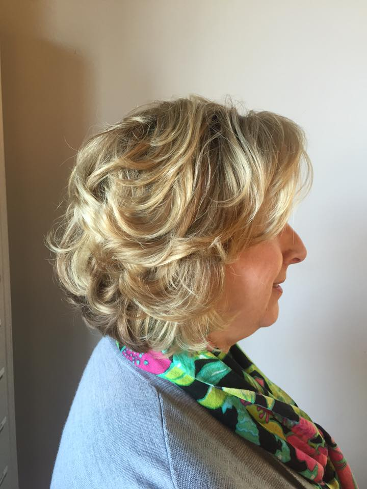 Highlights with a kerastase moisture and strength treatment
