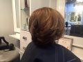 Before and after Brazilian blowout. Also new color with the new Kevin.Murphy Color.meafter