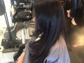 Brazilian blowout on virgin hairafter