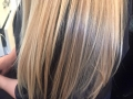 after1Split end treatment provides a netting around the ends of the hair gluing them shut for four weeks.