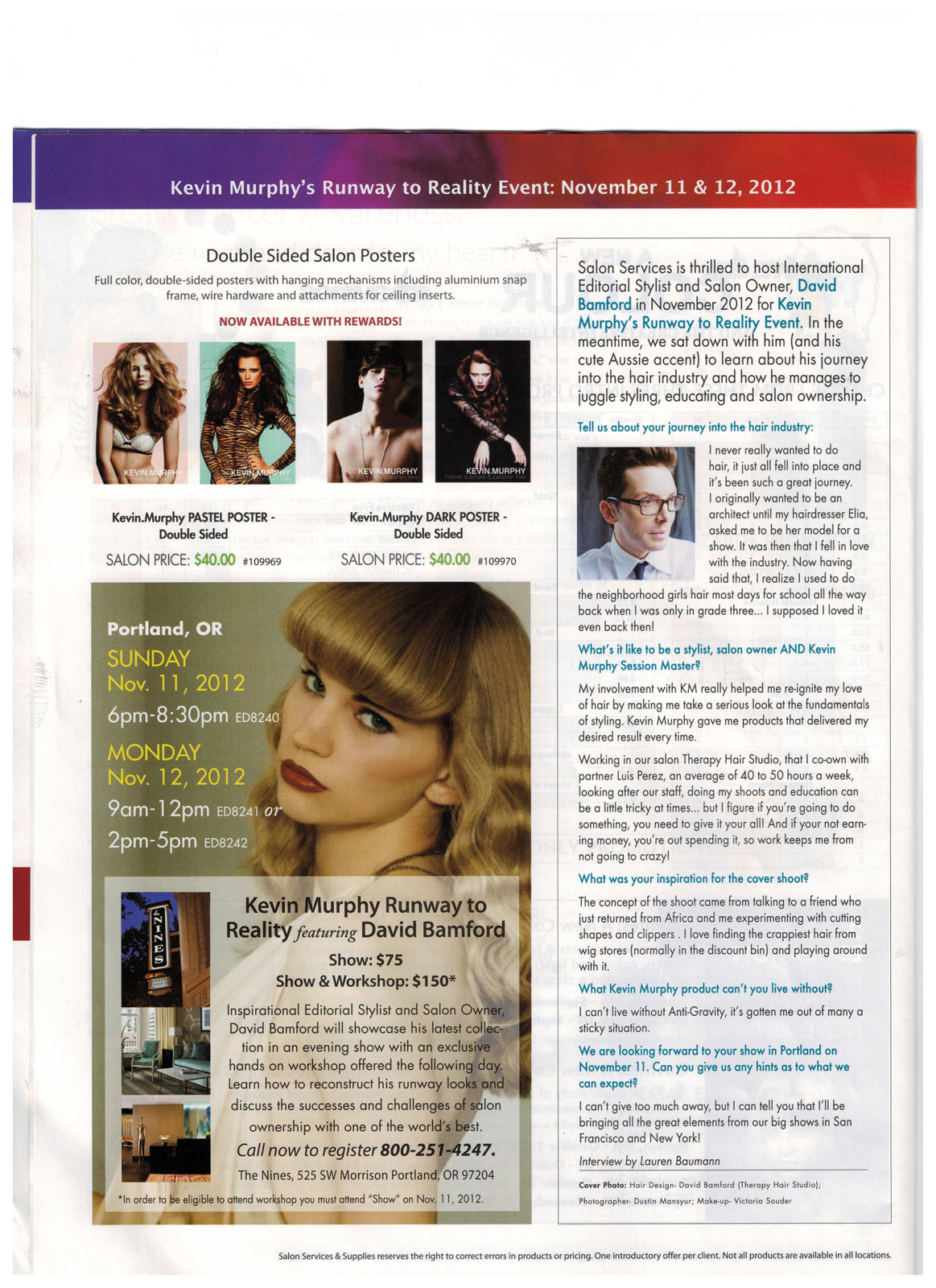 Viewpoint Magazine Inside page