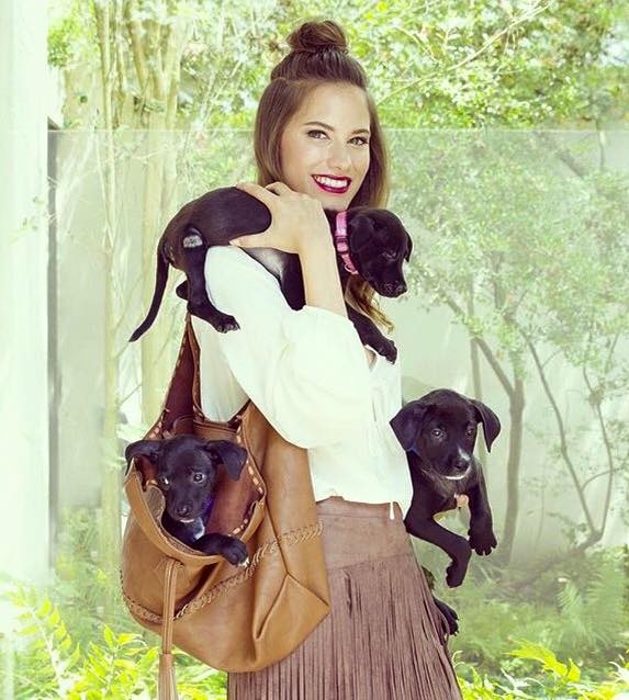 I did make up for the fallwinter dimensions photoshoot where dimensions is helping support Adore Houston to adopt a dog!