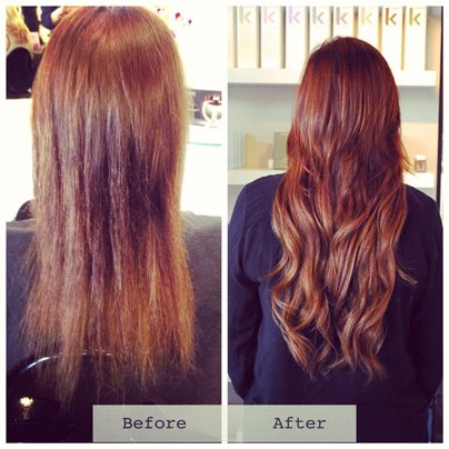 Look at what a difference extensions make. Gorgeous work Kelsey!