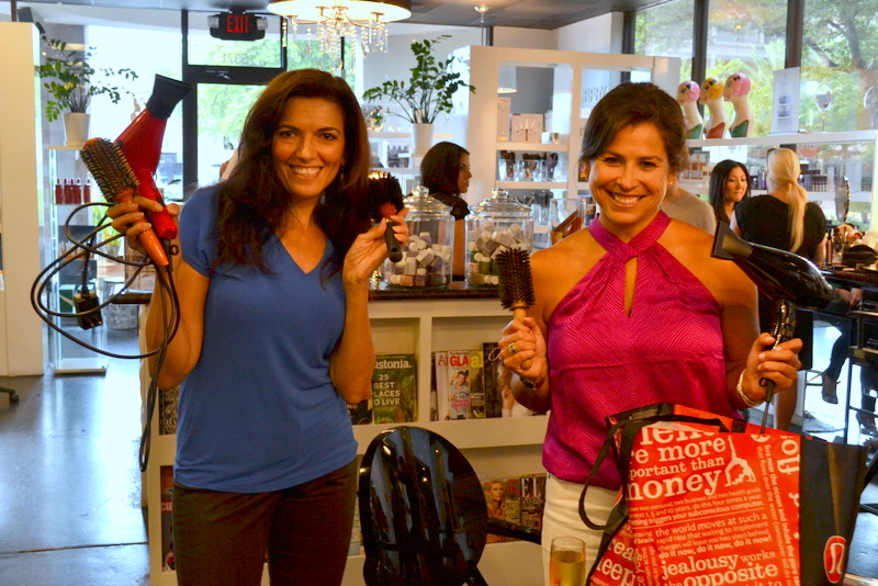 Blowdry bootcampers bring their own tools