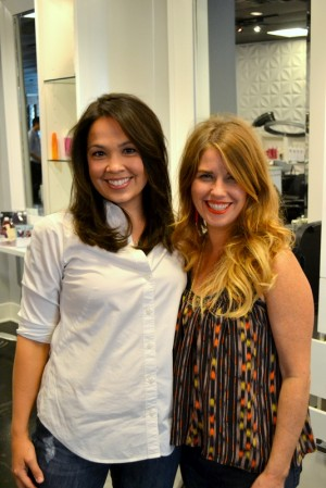Erin finished look blow dry houston