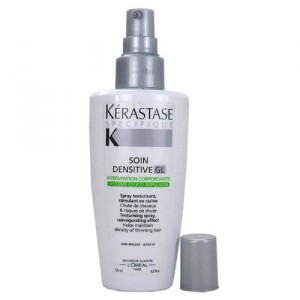 Therapy stylist recommends densitive spray